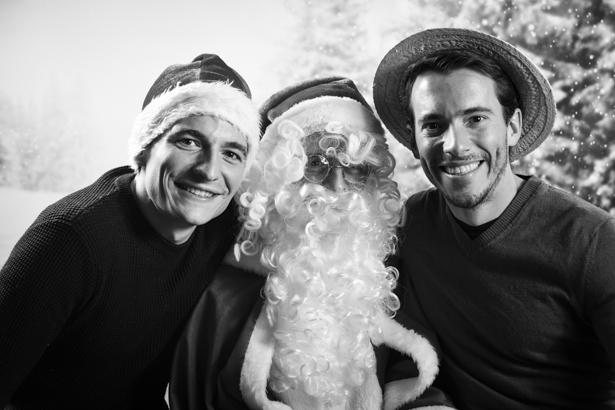 Photocall arbre de Noël