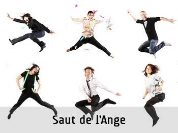 animation photo, animation evenementielle, animation photocall, saut de l ange